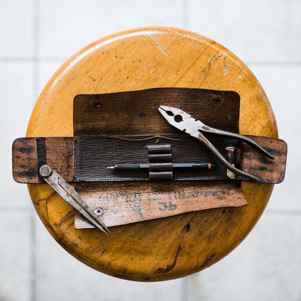 old pencase